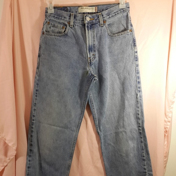 Levi's Other - Levi's 550 Blue Jeans 29x32 Distressed Relaxed Fit